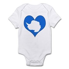 I Love Antarctica Infant Bodysuit