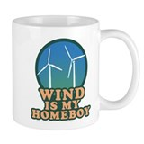 Wind Is My Homeboy Small Mug
