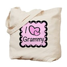 I Love Grammy Tote Bag