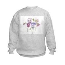 Pretty Pansy Sweatshirt