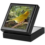 Keepsake Box with Yellow Canary on top