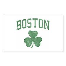 Boston Irish Rectangle Decal