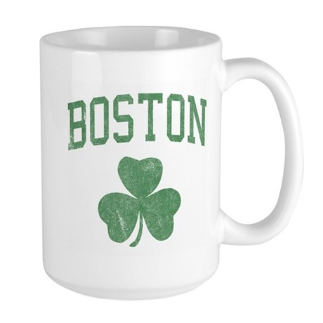 Boston Irish Large Mug