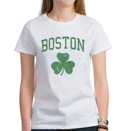Boston Irish Womens T-Shirt