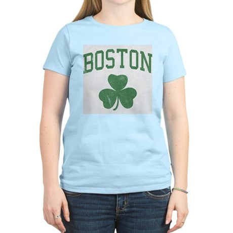 Boston Irish Womens Light T-Shirt
