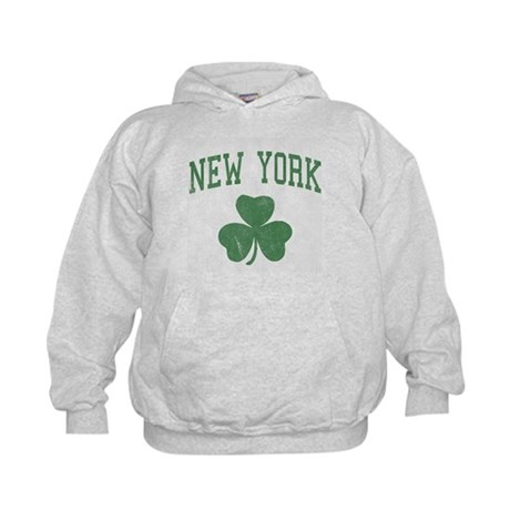 New York Irish Kids Hoodie