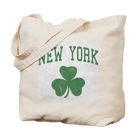 New York Irish Tote Bag