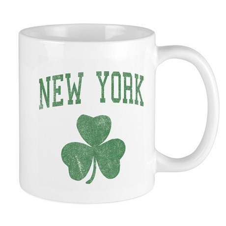 New York Irish Mug