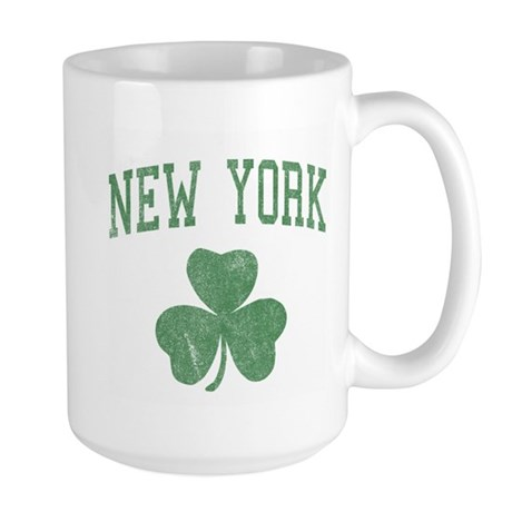 New York Irish Large Mug