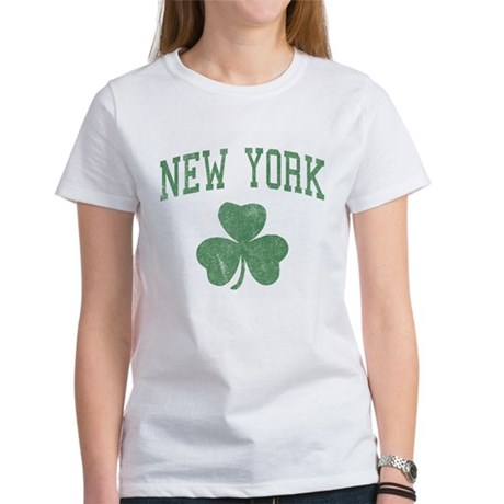 New York Irish Womens T-Shirt