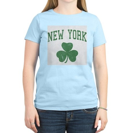 New York Irish Womens Light T-Shirt