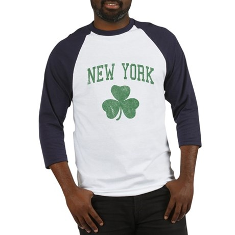 New York Irish Baseball Jersey