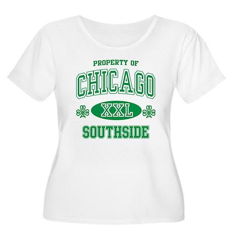 Chicago Southside Irish Women's Plus Size Scoop Ne