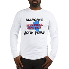 mahopac new york - been there, done that Long Slee