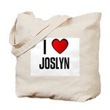 I LOVE JOSLYN Tote Bag