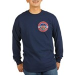 Coast Guard Masons Long Sleeve Dark T-Shirt