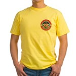 Coast Guard Masons Yellow T-Shirt