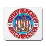 Coast Guard Masons Mousepad