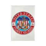 Coast Guard Masons Rectangle Magnet (10 pack)