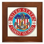 Coast Guard Masons Framed Tile