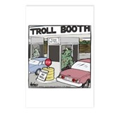 Troll Booth Postcards (Package of 8)