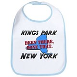 kings park new york - been there, done that Bib