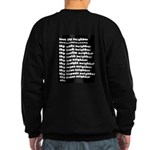 Love thy neighbor Sweatshirt (dark)