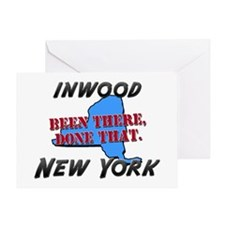 inwood new york - been there, done that Greeting C