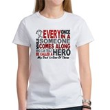 HERO Comes Along 1 Dad BRAIN CANCER Tee