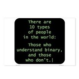 Understand Binary Postcards (Package of 8)