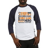 HERO Comes Along 1 Grandpa LEUKEMIA Baseball Jerse