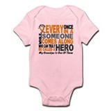 HERO Comes Along 1 Grandpa LEUKEMIA Infant Bodysui