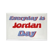 Everyday is Jordan Day Rectangle Magnet