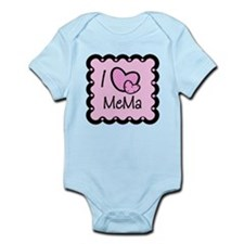 I Love Mema Infant Bodysuit