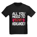 I Wear Black All Warriors Toddler T-Shirt