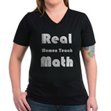 Real Women Teach Math Shirt