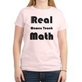 Real Women Teach Math T-Shirt