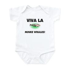 Viva La Minke Whales Infant Bodysuit