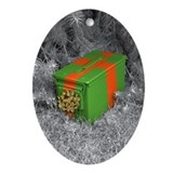Ammo Box Oval Ornament