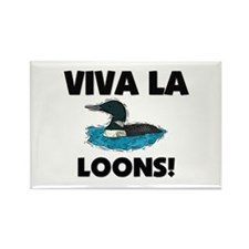 Viva La Loons Rectangle Magnet (10 pack)