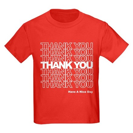 Thank You Bag Kids T-Shirt