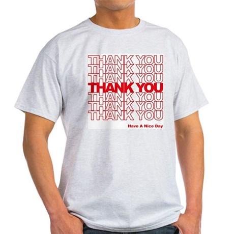 Thank You Bag Light T-Shirt
