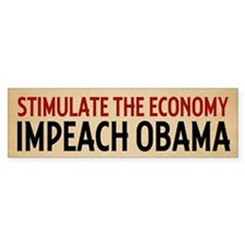 Impeach Obama Bumper Sticker (10 pk)