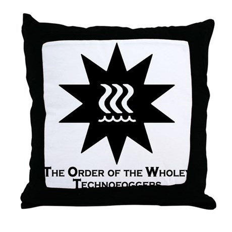 Technofogger Throw Pillow