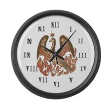 Phoenix Large Wall Clock