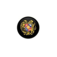 Coat of Arms of Armenia Mini Button
