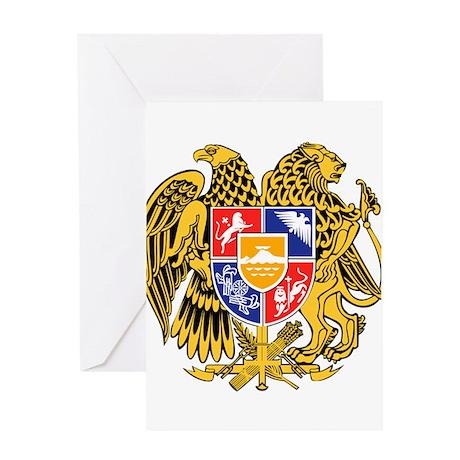 Armenia Coat of Arms Greeting Card