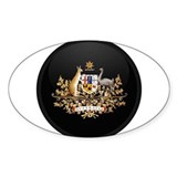 Coat of Arms of Australia Oval Decal