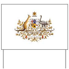 Australia Coat of Arms Yard Sign