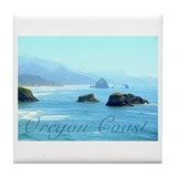Oregon Coast Tile Coaster